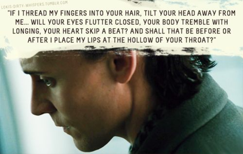 """Submission: """"If I thread my fingers into your hair, tilt your head away from me… will your eyes flutter closed, your body tremble with..."""