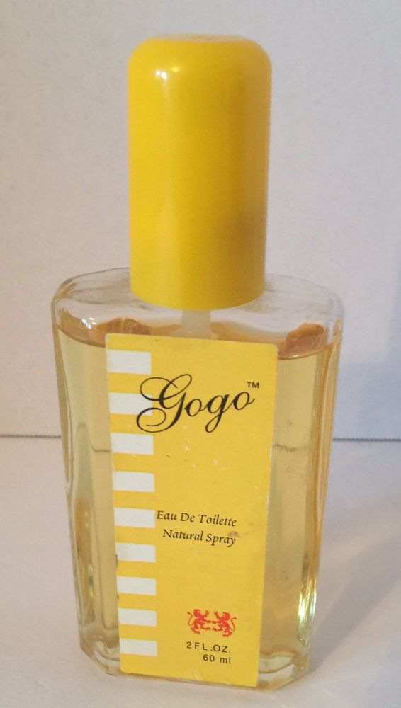 Vintage Gogo Eau de Toilette Spray Perfume 2.0 OZ RARE #Unbranded