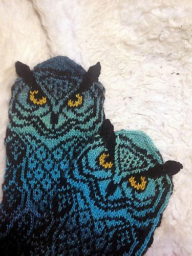 Ravelry: Owl Around pattern by Natalia Moreva
