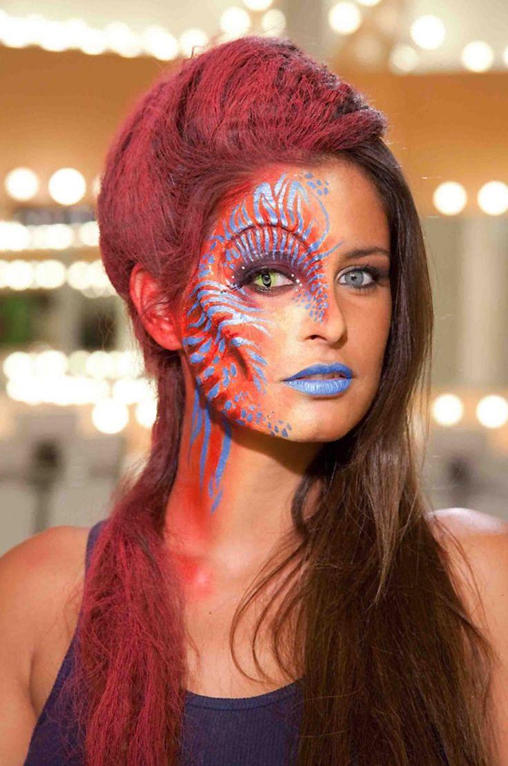 414 Best Face Paint & Fantasy Makeup Images On Pinterest