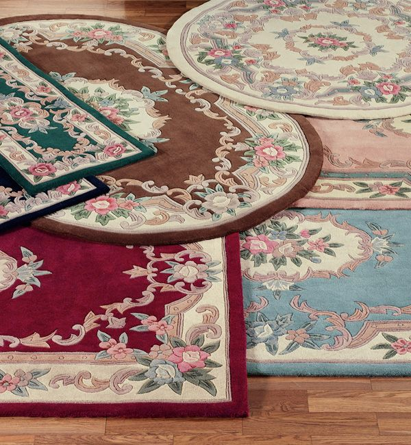 serena aubusson ii floral wool rugs rugs area rugs floor decor