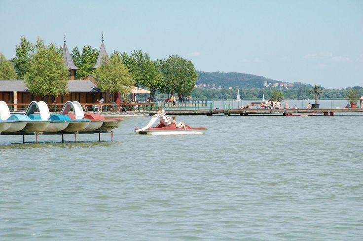 Varosi Strand (beach along Lake Balaton) - Keszthely, Hungary