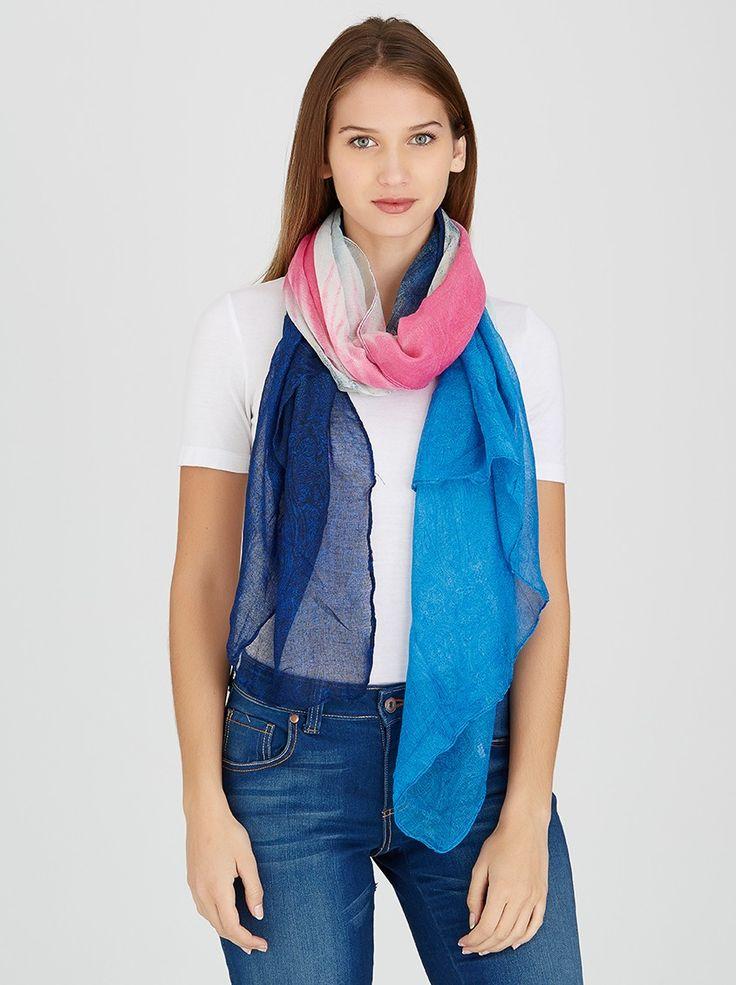 Tie-dye Scarf Multi-colour