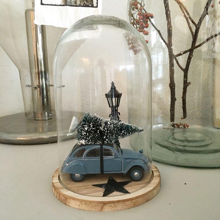 Action stolp/kerstboom/lantaarnpaal en Sissy Boy 2CV