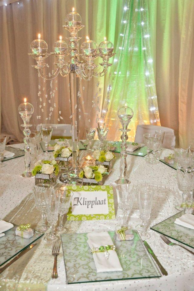 Your table name is an easy way to incorporate your colour.