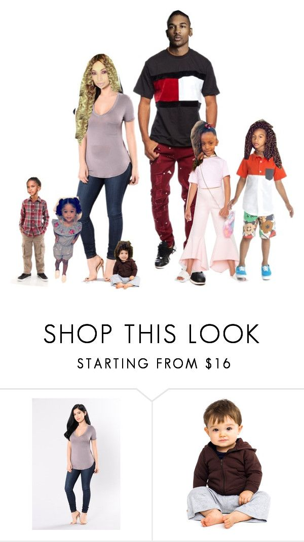 """""""Santos Family outing: Di & Paz +6!"""" by a-andm ❤ liked on Polyvore featuring American Apparel"""
