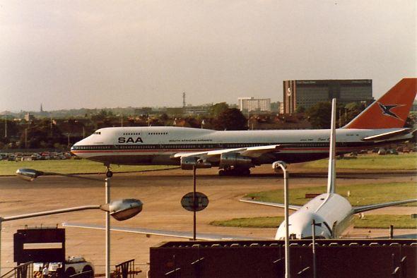 SAA 747-300 ZS-SAT