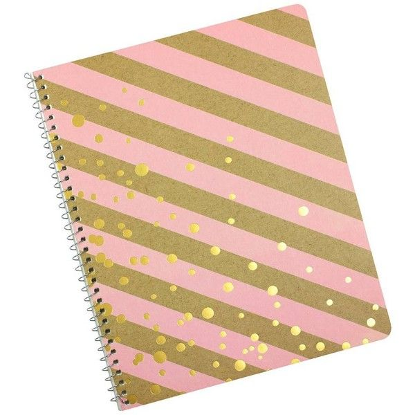 """Greenroom™ Spiral Notebook, College Ruled, 80pgs, 9"""" x 11"""" : Target ❤ liked on Polyvore featuring home, home decor and stationery"""