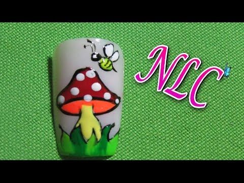 Decoracion de uñas Ranita - Como Pintar ranitas - Frog Nail art - NLC - YouTube