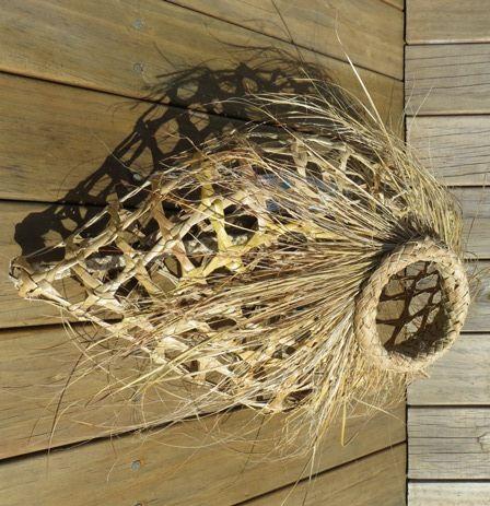 Flax Weaving - Hinaki                                                                                                                                                                                 More