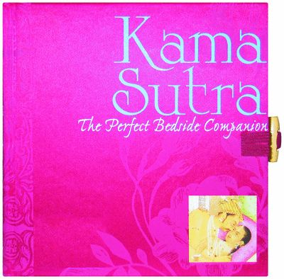 Packaged with a beautiful satin-bound cover and clasp, the Kama Sutra book explores the rules and commandments of love, pleasure, and mutual gratification with frankness and celebration.