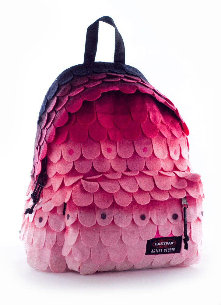 "By designer Ben Monteiro for the ""Eastpack Artist Studio"" initiative."
