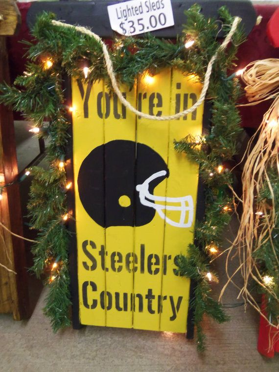 You Re In Steelers Country Decorative Lighted By