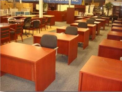 CALL US AT 516-200-6282 FOR YOUR LOWEST PRICE KIMBALL REFURBISHED DESK IN MAHOGANY... http://theofficefurniturestore.com/item/salesdesks