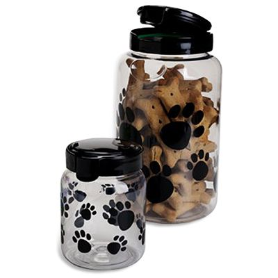 Snapware® Paw Print Treat Containers for Tessa Treats! Container Store