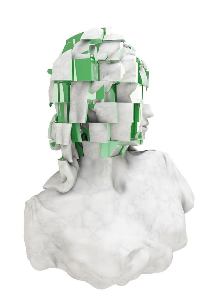 Maiko Gubler - bust green
