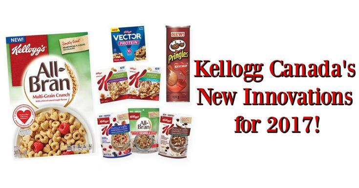 Kellogg Canada's New Innovations for 2017