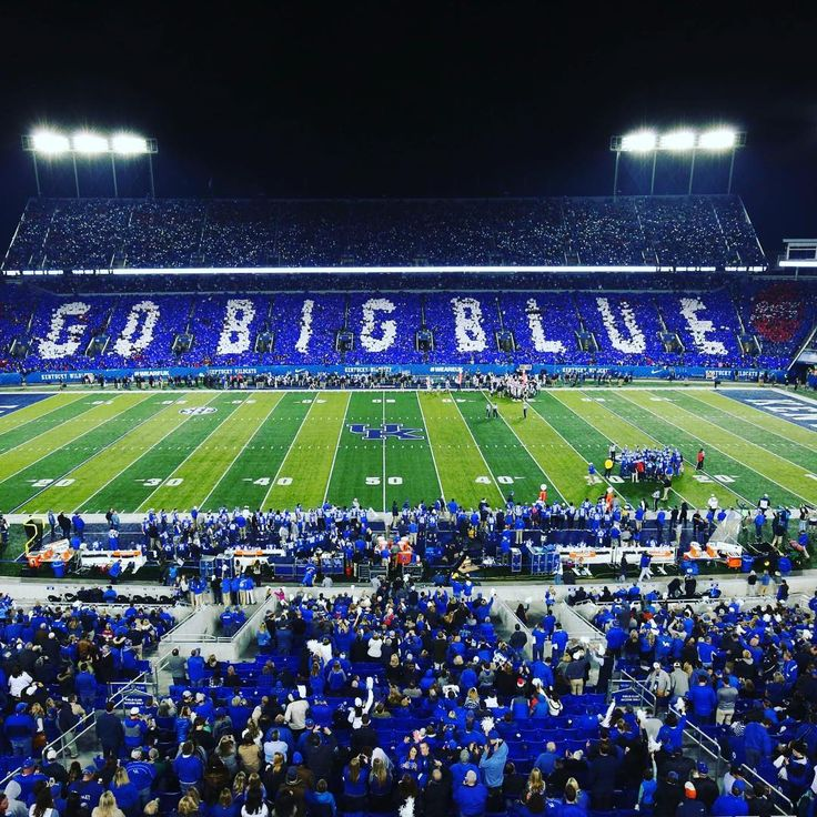 This happened at the end of the 1st quarter. The #BBN is awesome. #GoBigBlue #UGAvsUK