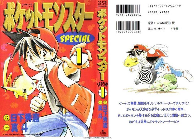 Read Pokemon Adventures Comics Online!!!!  :-D