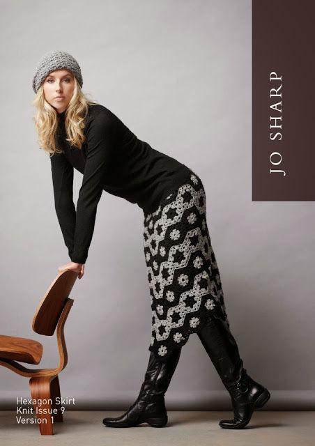 Crochet and Knitting fashion: GRANNY SQUARES FASHION