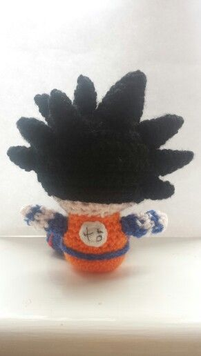 Amigurumi Dragon Ball Goku : Goku Amigurumi DBZ Crochet Dragon Ball Z Pinterest ...