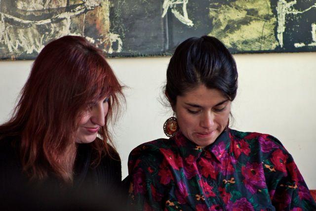 CLÍNICA DE OBRA #panoramasur2014 / Taller de producción del texto teatral, dirigido por Alejandro Tantanian (Foto: Ernesto Donegana)