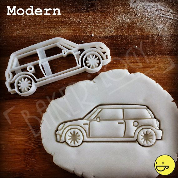 Mini Car Cookie Cutter  biscuit cutter  one of a kind by Made3D