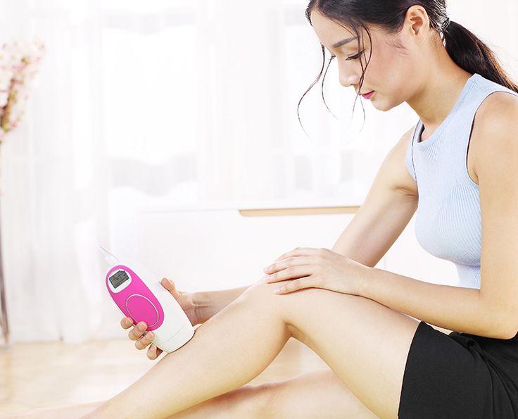 300,000 Pulses Women Epilator Laser Hair Removal Permanent Face Body Bikini Depilation IPL Hair Remover Men Lady Depilatory