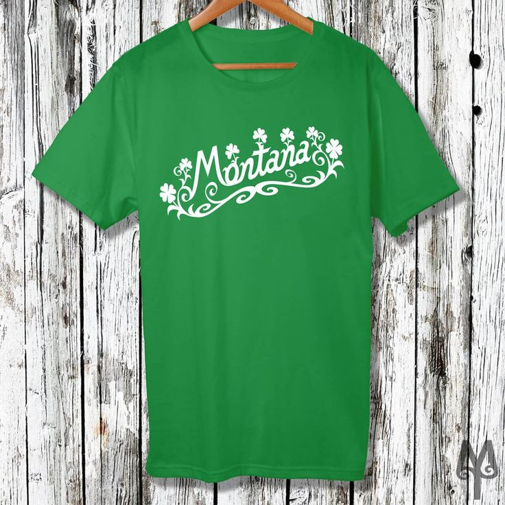 Montana Irish, Saint Patricks Day T-Shirt