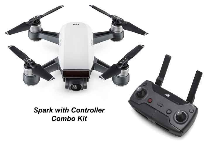 DJI Spark with Controller