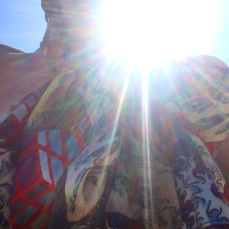 Second skin under the hot August sun #HERSE #summerstories #summertime #fashionstories #august #hot #silkscarf #limitededition #insideamuse #shoponline #online #instores #milan #capri #parma #london #athens #mykonos #crete #venice #wolfandbadger #notjustalabel #collectible #luxuriousbrand #luxuriousfabric #contemporaryart #contemporaryfashion