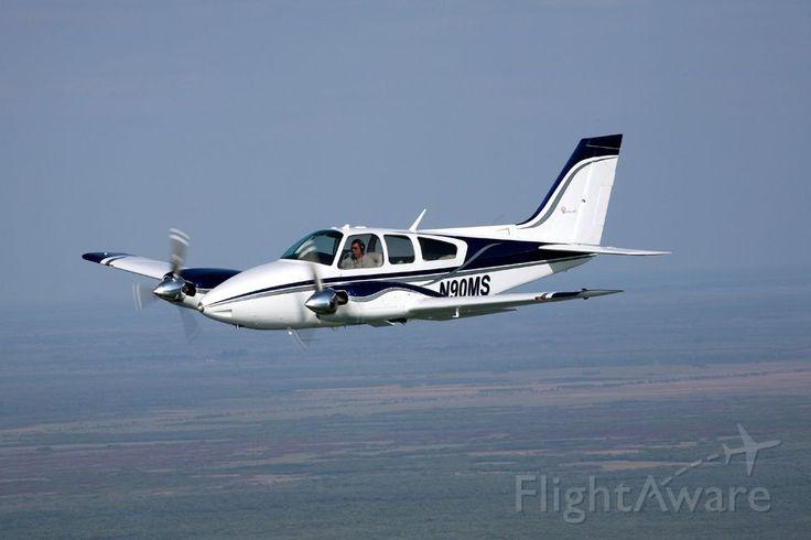 Photo of Beechcraft 55 Baron (N90MS) ✈ FlightAware