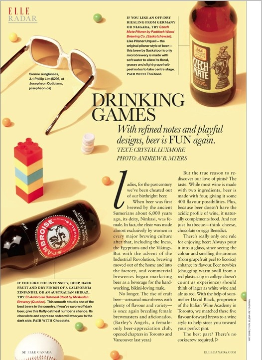 """Drinking Games"" (via Elle)."
