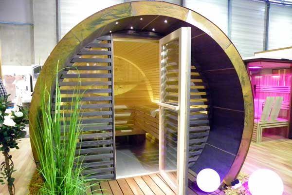 Sauna im Fass?? auf der Wohnen ? Interieur