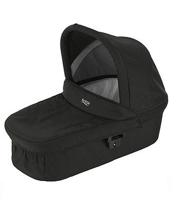 The Britax hard carrycot will create a cosy lie-flat pram mode for your newborn baby and is compatible with a range of Britax pushchairs.