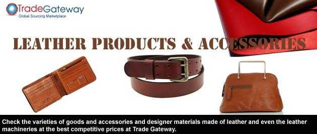 The leather products are always in fashion. The leather is used not only for the making of the apparels but also for the manufacturing of many other products like bags, belts, pants, foot wears etc.