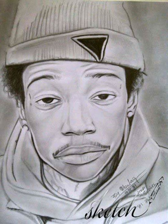 Drawings Of Famous Rappers - Drawings Nocturnal