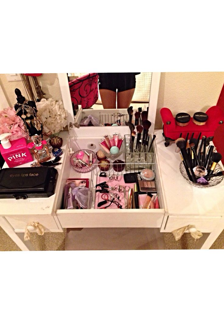 100 best room ideas images on pinterest make up home and makeup make up vanity table geotapseo Gallery