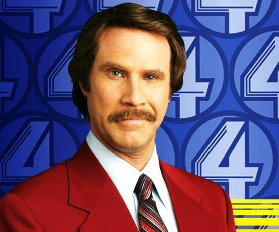 Ron Burgundy's Surprise Appearance and Announcement On CONAN