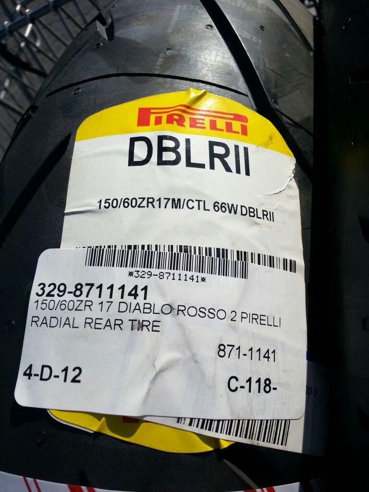 Love the Diablo Rosso II tires
