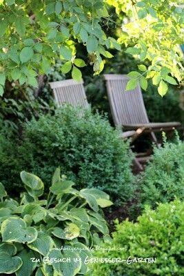 Sitzplatz im Schatten