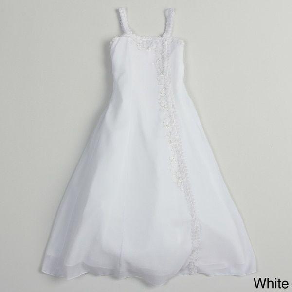 Sweetie Pie Girls Zip-Back Special Occasion Dress