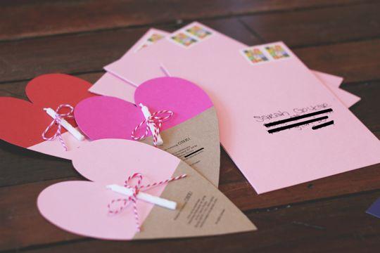Isn't it cute for an invitation card? Love it!