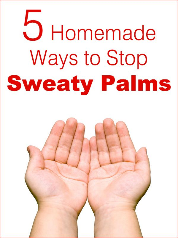 5 Homemade Ways to Stop Sweaty Palms | 5WaysTo.net