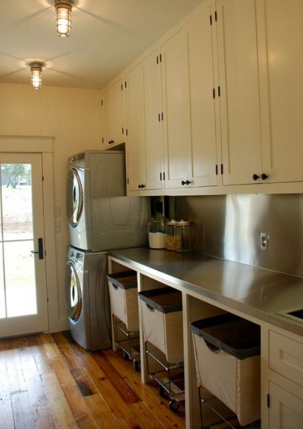 Nice Laundry Room Ideas Stacked Washer Dryer With Download