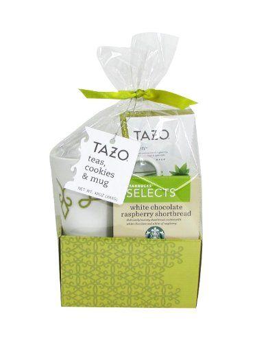 Traditional Tazo Green Tea Basket Gift Set, ,