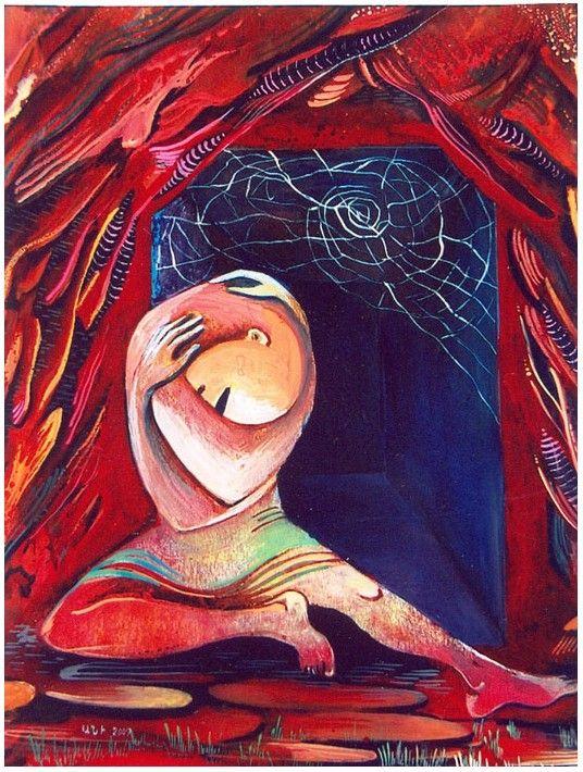 одиночество, автор Ани Петросян. Артклуб Gallerix