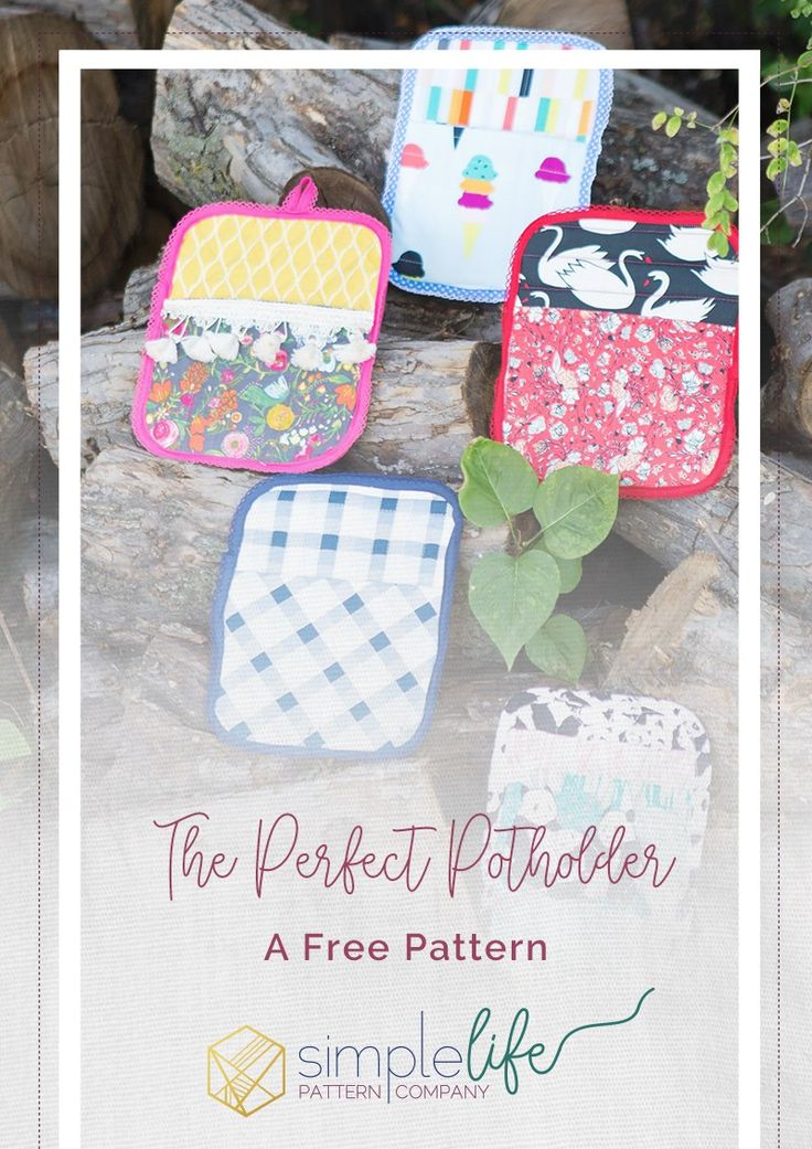Making Potholders With The Cricut Maker A Free Pattern