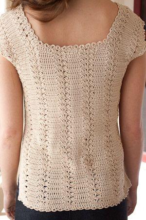 Ravelry: Zipline Shell pattern by Linda Permann