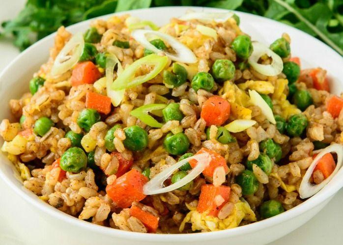 Thai style vegetarian fried rice